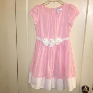 Gymboree pink girls dress size 8